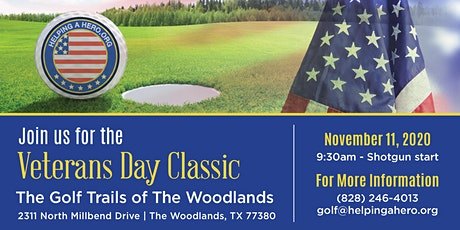 Helping a Hero 2020 Veterans Day Golf Classic tickets