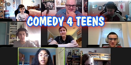 ONLINE Comedy 4 Teens Classes - Improv, Stand-Up, Sketch tickets