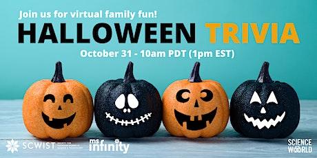 SCWIST x Science World Family Halloween Trivia Challenge tickets