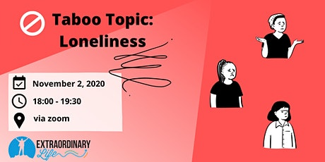 Taboo Topic: Loneliness tickets
