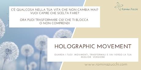 HOLOGRAPHIC  MOVEMENT ® sessione di gruppo biglietti
