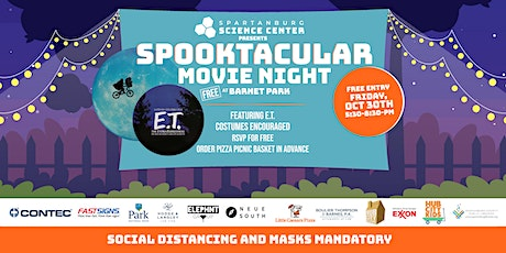 Spooktacular Movie Night at Barnet Park featuring E.T.the Extra-Terrestrial tickets