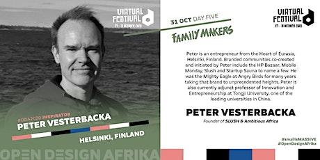 Talk by Peter Vesterbacka, Founder of SLUSH tickets