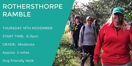 ROTHERSTHORPE RAMBLE | 4 MILES | MODERATE | NORTHANTS tickets