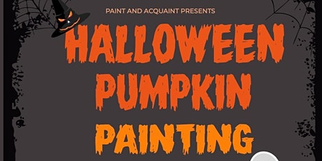 Halloween Pumpkin Painting tickets