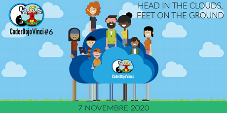 CoderDojo Vinci #6 - Head in the clouds, feet on the ground biglietti