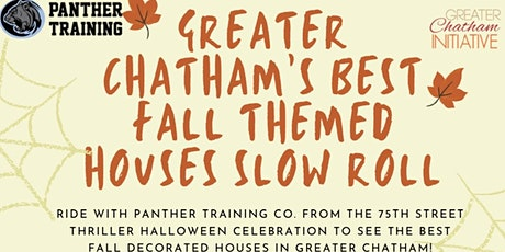 Greater Chatham Halloween Slow Roll Bike Ride tickets