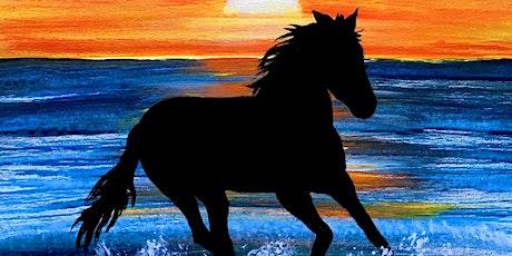 Paint Night at Hilton Del Mar Sunset Horse beach run tickets