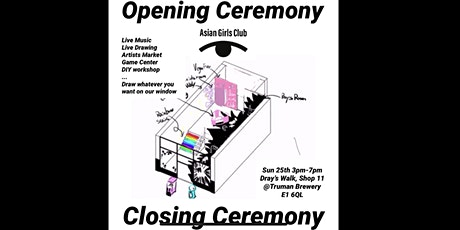 AsianGirlsClub Opening/Closing Ceremony tickets