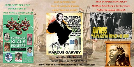 Marcus Garvey: Life & His UNIA-ACL Work tickets