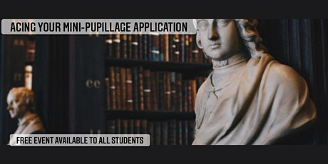 Acing Your Mini-Pupillage Application tickets
