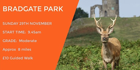 BRADGATE DEER PARK  | ENCHANTED EXPEDITION |  8  MILES | LEICS tickets