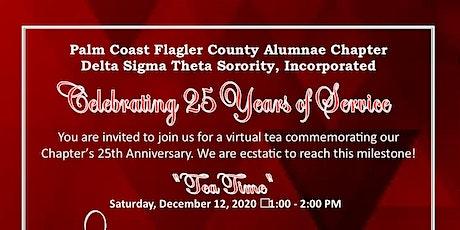 25th Anniversary Virtual Tea - PCFCAC Delta Sigma Theta Sorority, Inc. tickets