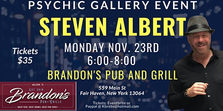 Steven Albert: Psychic Medium Gallery Event  Brandons tickets