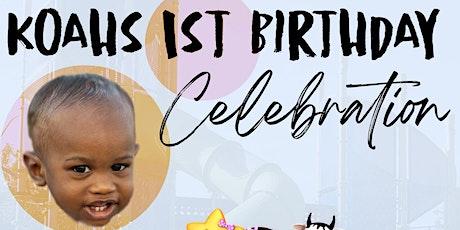 Koah's 1st Birthday Celebration tickets