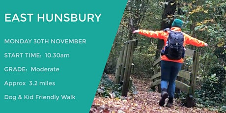 EAST HUNSBURY GUIDED WALK tickets