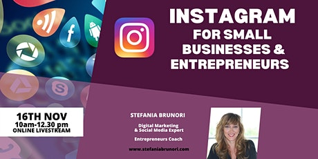 Instagram for Small Businesses and Entrepreneurs tickets