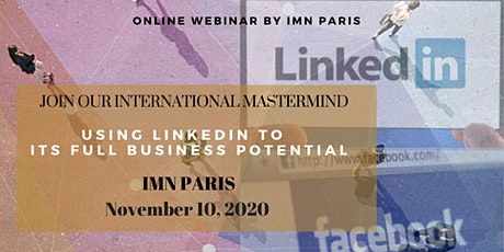 Mastermind Live Webinar: Using LinkedIn to its full Business potential tickets
