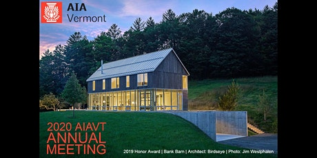 2020 AIA Vermont Annual Meeting tickets