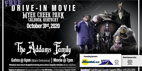 FREE Drive-In Movie at Myer Creek Park tickets