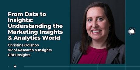 Data to Insights: Understanding the Marketing Insights & Analytics World tickets