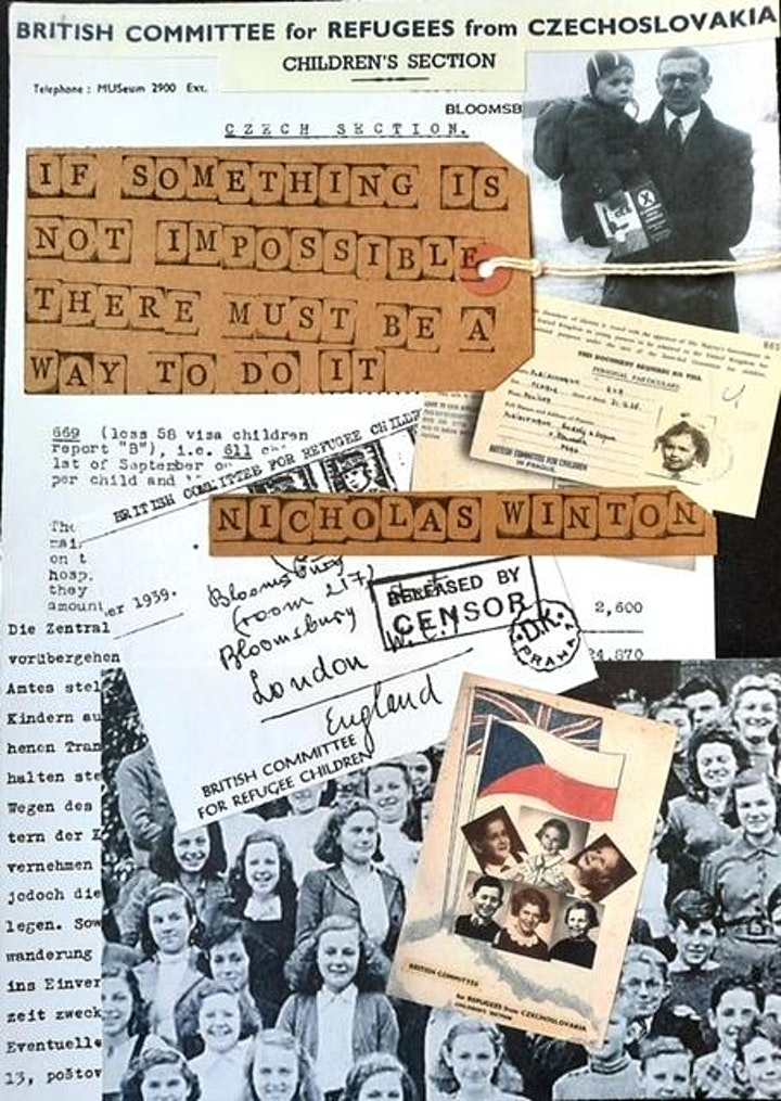 Artistic Response to the Kindertransport: Keepsakes Holocaust Art Project image