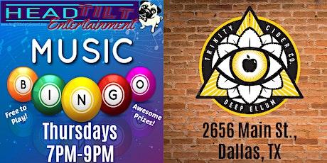 Music Bingo at Trinity Cider! tickets