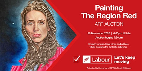 Paint the Region Red - Art Auction tickets