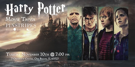 Harry Potter Movies Trivia at Pinstripes Oak Brook tickets