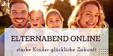 starke Kinder-glückliche Zukunft online Elternabend Tickets