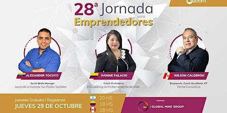 28° Jornada Para Emprendedores ONLINE boletos