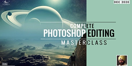 Complete Photoshop Editing Masterclass tickets