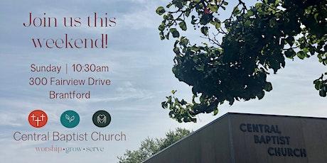 Sunday Service (In-Person) - November 8