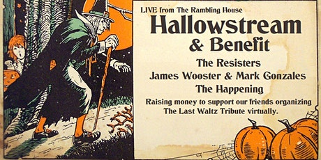Hallowstream & Benefit: LIVE from The Rambling House tickets