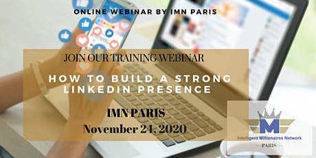 Live Webinar Training: How to Build a strong LinkedIn presence tickets