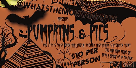 Pumpkins & Pic the city's first Halloween themed Instagram scavenger hunt. tickets