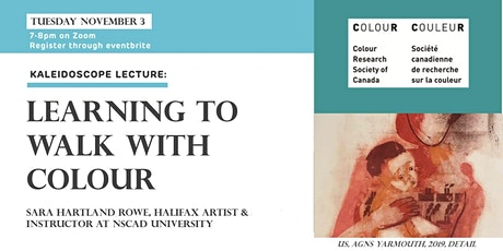 Kaleidoscope Lecture: Learning to Walk with Colour by Sara Hartland-Rowe tickets
