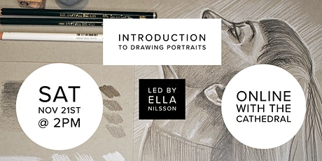 Introduction to Drawing Portraits with Ella Nilsson tickets