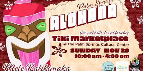Alohana Palm Springs tickets