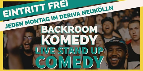 Stand-Up Comedy: Backroom Komedy immer MONTAGS Tickets