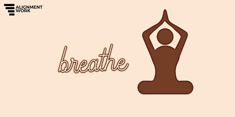 breathwork for alignment tickets