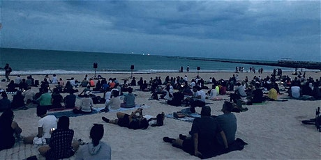 FullMoon Detox Beach Meditation | FREE tickets