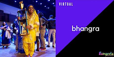 IN-STUDIO & VIRTUAL Bhangra Workshop with Sowmya tickets
