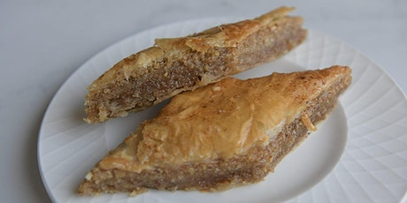 Online Baking Class - Learn to make Baklava tickets