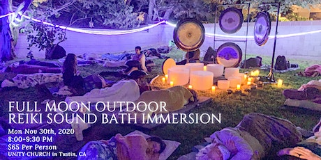 Full Moon Outdoor Reiki Sound Bath tickets