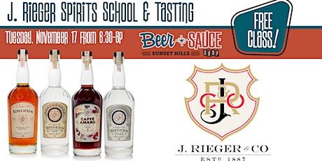 J. Rieger Exceptional Spirits School tickets