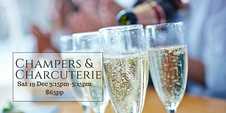 Champers and Charcuterie tickets