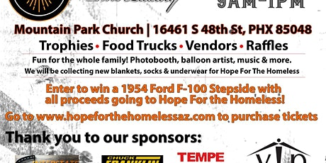Ahwatukee Car Show benefiting Hope For The Homeless tickets