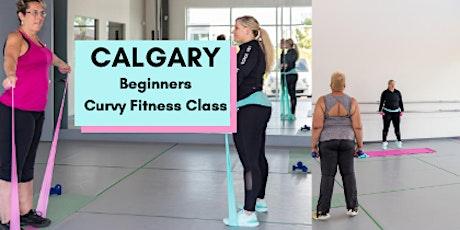 CALGARY  CURVY Beginners Fitness Class Oct 28 tickets