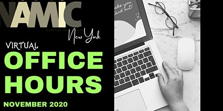 "Copy of NAMIC NY Presents: Virtual Office Hours, ""Digital Etiquette"" tickets"